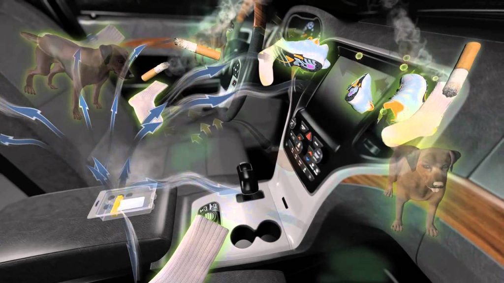 Ózonos autóklíma fertőtleníté